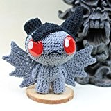 Crochet Azazel Amigurumi en Peluche, The Binding of isaac