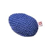 Repose-poignet ergonomique en laine et mousse coloris bleu