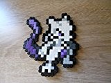 Sprite Mewtwo - pokemon - hama beads - pixel art