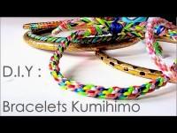 DIY - Bracelets avec la technique de kumihimo