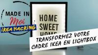 DIY : Transformer un cadre IKEA en lightbox ?