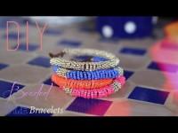 DIY - BRACELETS EN PERLES DE ROCAILLES