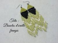 DIY - BOUCLES D'OREILLE FRANGES