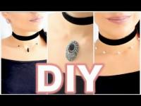 DIY : CHOKERS A MOINS DE 2€