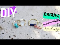 DIY┋BAGUE MINIMALISTE INSPIRATION ANTHROPOLOGIE