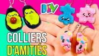 DIY colliers D'AMITIÉS * COLLIERS  d'amitié de l'AVOCAT,  du PUZZLE et du DONUT KAWAII