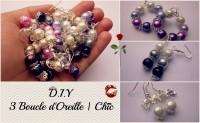 DIY - Boucles d'Oreille Chic