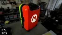 Transformation d'une valise grise en super valise !
