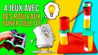 DIY - Jouets et Jeux avec Rouleaux de papier toilette