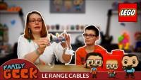 Un incroyable range câbles avec des jouets Lego - DIY