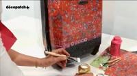 Comment customiser sa Valise avec du Décopatch