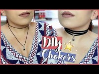 DIY - 15 Colliers & Chokers ♡