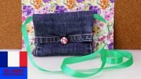 Transformer un jeans en sac ou en porte-monnaie - DIY
